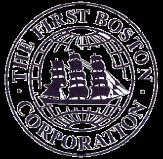 First Boston - First Boston logo