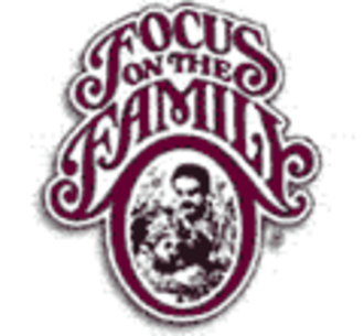 Christian right - Focus on the Family's former logo.