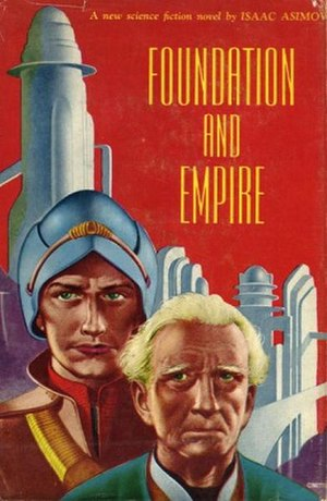 Foundation and Empire - Dust-jacket illustration from the first edition.