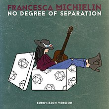 Francesca Michielin - No Degree of Separation - Single cover.jpg