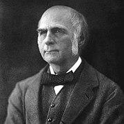 Galton in his old age.