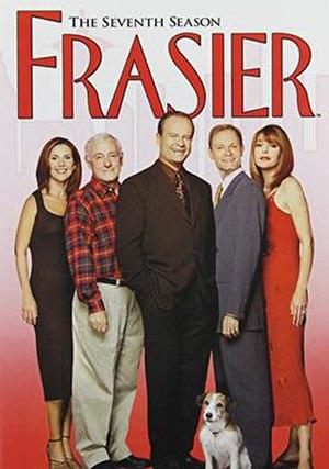 Frasier (season 7) - DVD cover