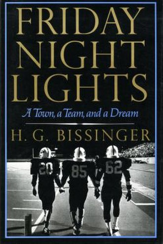 Friday Night Lights: A Town, a Team, and a Dream - Image: Friday Night Lights novel cover