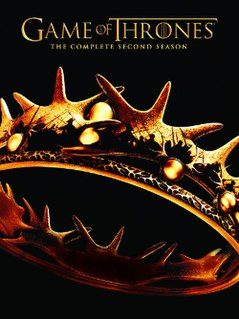 <i>Game of Thrones</i> (season 2) second season of the U.S. TV series, aired 2012