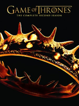 Game of Thrones (season 2) - Region 1 DVD artwork