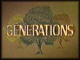 Generations (U.S. TV series) - Image: Generations TV series logo