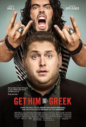 Get Him to the Greek - Theatrical release poster