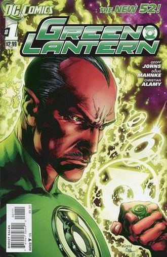 Green Lantern (comic book) - Image: Green Lantern V5no 1