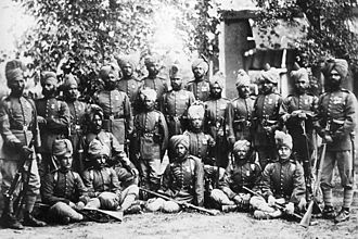 Siege of the British Residency in Kabul - The Guides Infantry in Afghanistan.