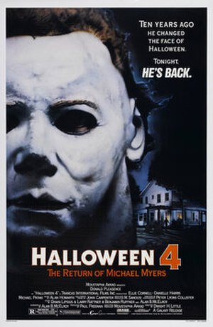 Halloween 4: The Return of Michael Myers - Theatrical release poster