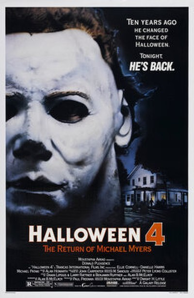 Picture of a movie: Halloween 4: The Return Of Michael Myers