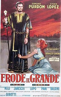 <i>Herod the Great</i> (film) 1958 film by Victor Tourjansky