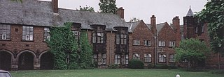 Hulme Hall, Manchester grade II listed building in Manchester, United kingdom