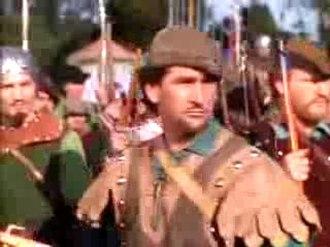 Howard Hill - Howard Hill in The Adventures of Robin Hood (1938)