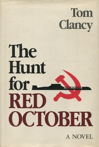 The Hunt for Red October - First edition cover