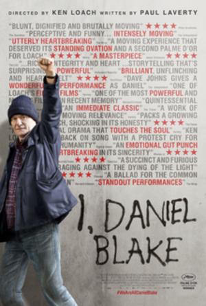 I, Daniel Blake - British release poster