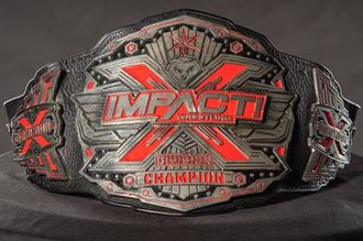 Impact X Division Championship - The current IMPACT X Division Championship belt   (2018-present)
