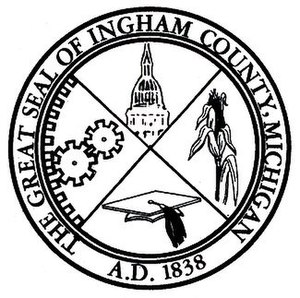 Ingham County, Michigan - Image: Ingham County, Michigan (crest)