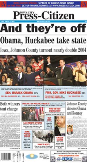 Iowa City Press-Citizen - Image: Iowa City press Herald