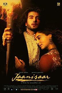 <i>Jaanisaar</i> 2015 film directed by Muzaffar Ali