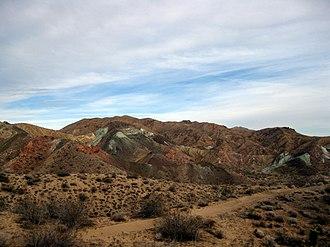 Jawbone Canyon - Image: Jawbone backcountry