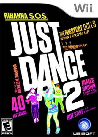 Just Dance 2 - American box art
