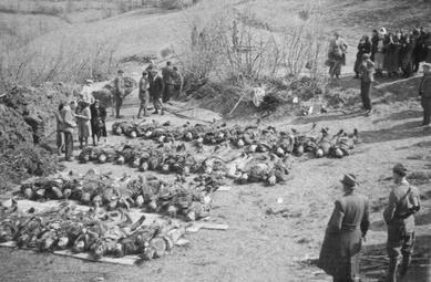 Kremnicka massacre exhumed victims