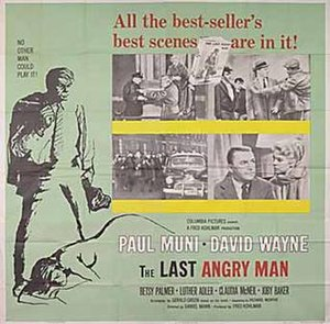 The Last Angry Man - Theatrical poster
