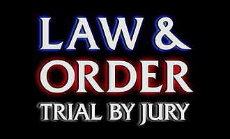 Law & Order: Trial by Jury - Image: Law and Order TBJ title card