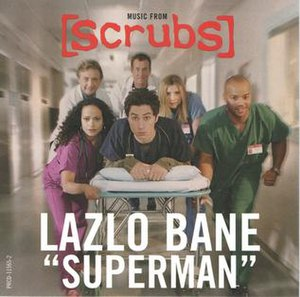 Superman (Lazlo Bane song) - Image: Lazlo Bane Superman promo single cover