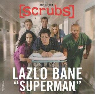 Superman (Lazlo Bane song) - Image: Lazlo Bane Superman promo single cover