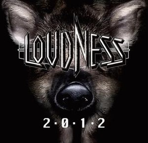2012 (Loudness album) - Image: Loudness 2012 cover artwork