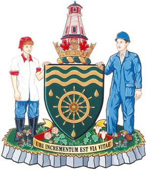 Marystown - Image: Marystown NFLD coat of arms