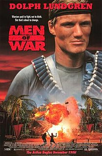<i>Men of War</i> (film) 1994 American action film directed by Perry Lang