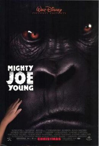 Mighty Joe Young (1998 film) - Theatrical release poster