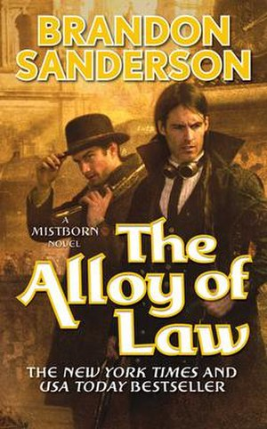 Mistborn: The Alloy of Law - First edition cover