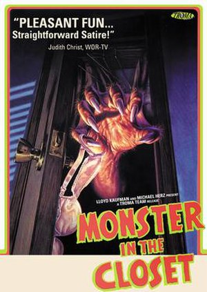 Monster in the Closet - DVD cover for 'Monster in the Closet'