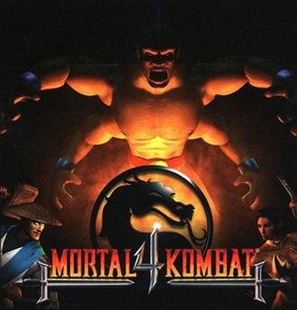 Mortal Kombat 4 - Image: Mortal Kombat 4 cover