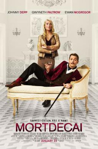 Mortdecai (film) - Theatrical release poster