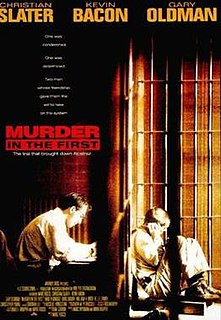 <i>Murder in the First</i> (film) 1995 film by Marc Rocco
