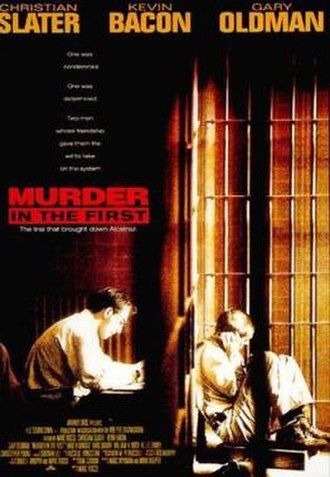 Murder in the First (film) - Theatrical poster
