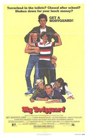 My Bodyguard - Theatrical release poster