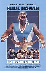 Cover of the VHS release of No Holds Barred.