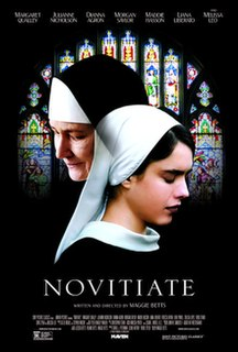 <i>Novitiate</i> (film) 2017 film by Maggie Betts