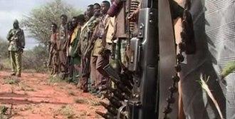 2007–2008 Ethiopian crackdown in Ogaden - Ogaden rebels filmed in an Al-Jazeera report.