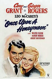 <i>Once Upon a Honeymoon</i> 1942 film by Leo McCarey