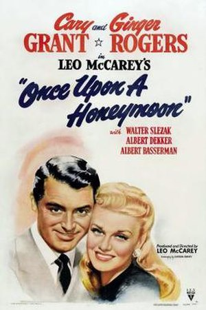 Once Upon a Honeymoon - Theatrical release poster