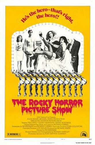 The Rocky Horror Picture Show - Theatrical release poster