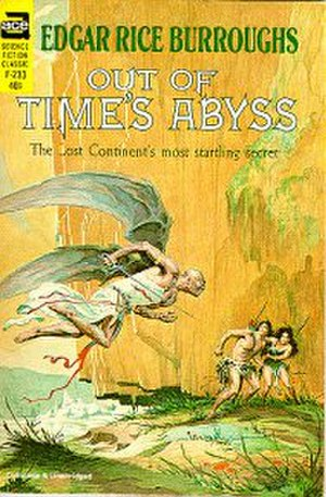 Out of Time's Abyss - Cover art for first separate edition of Out of Time's Abyss