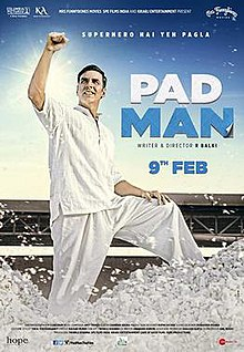 The poster features Akshay Kumar dressed in white.